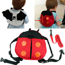 Ladybug Baby Kid Keeper Walking Safety Harness Backpack Leash Strap Bag Beamy