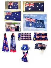 Australia Aussie Day Flags Bunting Banner Cape Stickers Scarf Party Decoration