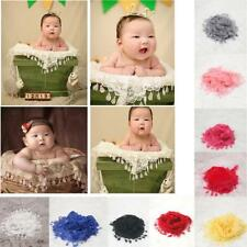 Luxury Newborn Baby Lace Cocoon Swaddle Wrap Yarn Scarf Blanket Photography Prop