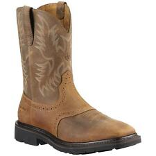 Ariat Western Mens Boots Sierra Wide Square Toe Age Bark 10010148