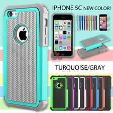 New Impact ShockProof Defender Slim Armor Hard Case Cover For Apple iPhone 5C