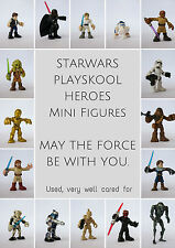 Starwars Hasbro Playskool 5 cm mini figure Star wars figures