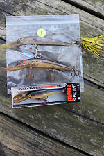 ASSORTED USED FISHING LURES