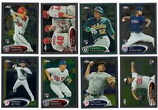 2012 Topps Chrome Complete Team Set 23 Available Rookie Card Logo RC NO VAR/SP