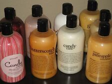 PHILOSOPHY 24 FL OZ BOTTLES- NEW- SHAMPOO, BUBBLE BATH, SHOWER GELS PICK 1 OR +