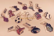 GANZ Kids Novelty Charms Tags Backpack Zipper Pull Flower Sports Music Pets NWT