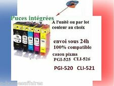 Cartridges no-oem Canon Pixma IP4850 4950 MG5150 5250 5350 8150 MX885 PGI525