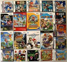 NINTENDO GB GBC GBA SNES N64 GC DS WII 3DS WII U VIDEO GAMES **PICK YOUR ITEM**