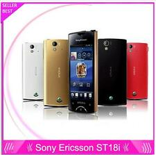 ST18i Original Sony Ericsson Xperia Ray St18i Red 8MP GSM 3G WIFI GPS Bluetooth