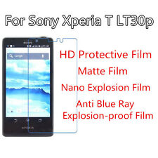 3pcs For Sony Xperia T LT30p High Clear/Matte/Nano Explosion/Anti Blue Ray  Film