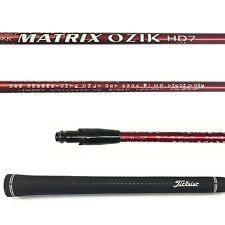 Matrix Ozik HD7 Custom Fairway Wood Shaft W/Titleist Adapter 913/915/917  F
