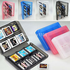 28 in 1 Game Card Case Holder Cartridge Box for Nintendo DS 3DS XL LL DSi MT UK