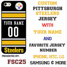 New Custom PITTSBURGH STEELERS phone Case Cover for iPhone 6 6 PLUS 5 5s 5c 4 4s