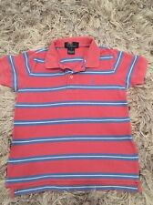Boys Ralph Lauren Pink Polo T-shirt Size 6 Years Great Condition