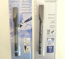 Permanent Marker Pens - Laundry, washable, durable, waterproof, on any surface
