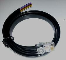 BLACK 10 CORE RJ48 RJ50 10 PIN 10C10P CABLE - VARIOUS LENGTH 1M 2M 3M 5M 10M
