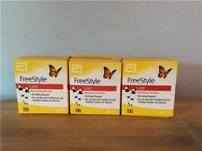 300 NEW FREESTYLE LITE GLUCOSE TEST STRIPS: EXP. 09/2017