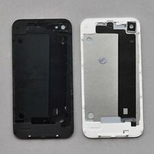 Back Glass For iPhone 4 4G Black Back Glass Battery Cover Housing Replacement
