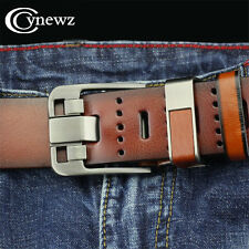 Vintage Personality Luxury Mens Lether Belt For Jeans High Quality Cinturones