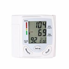 Blood Pressure Digital LCD Wrist Monitor Heart Beat Rate Pulse Meter Hot New CE