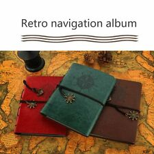 DIY Retro Leather Photo Baby Autograph Commemorative Graduation Album CE
