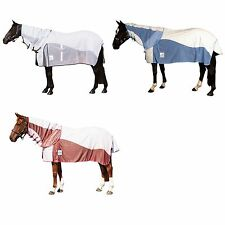 WEATHERBEETA KOOL COAT AIRSTREAM MESH ATTACHED NECK COMBO HORSE FLY RUG/SHEET