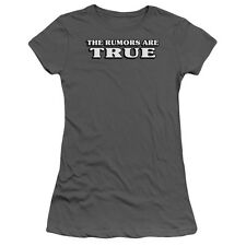 THE RUMORS ARE TRUE Humorous Ladies Cap Sleeve T-Shirt