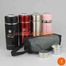 400ml Quantum Alkaline Filtered Water Bio Energy Nano Ionizer Flask Cup Bottle