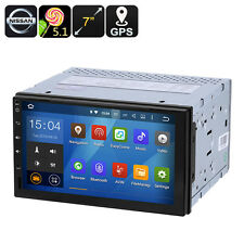 Universal Nissan 2 DIN Car Media Player 7-Inch display, Android 5.1, GPS NEW USA
