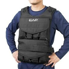 Weighted Vest 100 Pounds Adjustable Weight Training Fitness Exercise Workout