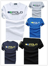 NWT Fashion Men's Polo T Shirts cotton short sleeve CASUAL SIZE S M L XL XXL
