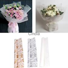 20 Sheets Tiny Flower Wedding Bouquet Stem Flower Wrapping Gift Wrap 60 x 60cm