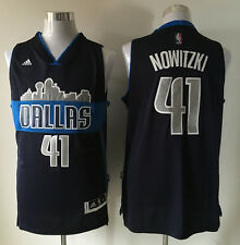 Dallas Mavericks #41 Dirk Nowitzki Blue Basketball Jersey  Free Shipping!!!