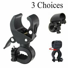 Bike Bicycle Flashlight Mount Clamp Clip Grip Cycling Torch Bracket Holder UK