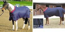 SHIRES WESTBOURNE DELUXE FLEECE LINED COOLER/TRAVEL/STABLE SHEET HORSE RUG