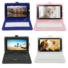 "iRULU 10.1"" Google Android 5.1 Tablet PC Octa Core 16GB Bluetooth W/ Keyboard"