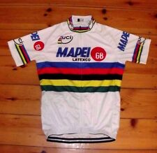 Brand New Team Mapei GB  world Champion Cycling jersey colnago C40