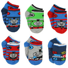 Thomas and Friends Boys 6 pack Gripper Socks (Toddler) TE016DQS