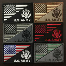 U.S. ARMY American Flag USA Military Tactical Morale Badge Subdued Uniform Patch