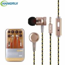 Original G63 metal bass earbuds Microphone Stereo Bass earphones for iPhone 6s f