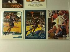 NBA Chris Webber Sacramento Kings GSW Warriors Topps Upper Deck Fleer Card MINT