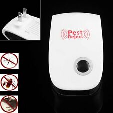Electronic Ultrasonic Anti Mosquito Insect Mouse Pest Repellent Repeller WW