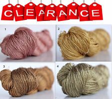 Clearance Sale 100% Silk Hand Embroidery Thread - Hand Dyed 1 Skein 50 Grams 3