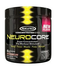 MUSCLETECH NEUROCORE ! ALL FLAVOURS! POWERFUL PREWORKOUT 45 SERVINGS!