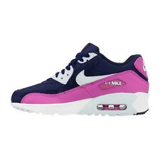 NIKE AIR MAX 90 MESH GIRLS WOMENS SIZE 3 5 5.5 TRAINERS SHOES MULTI COLOR NEW