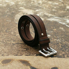 NEW Dsquared Dsquared Dual Split Brown Leather Belt Size XL BNWT RRP £180
