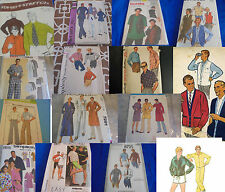 U Pick Mens Boys or Unisex Sewing Patterns