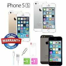 Apple iPhone 5S 16GB 32GB 64GB Sim Free Factory Unlocked Mobile Smartphone UK