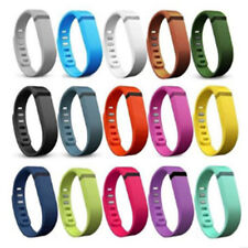 Colorful Replacement S/L Band Wrist Bands Wristband with Clasps For Fitbit Flex