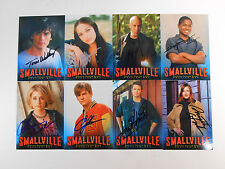 SMALLVILLE (SUPERMAN) SIGNED TRADING CARDS LOT 33
